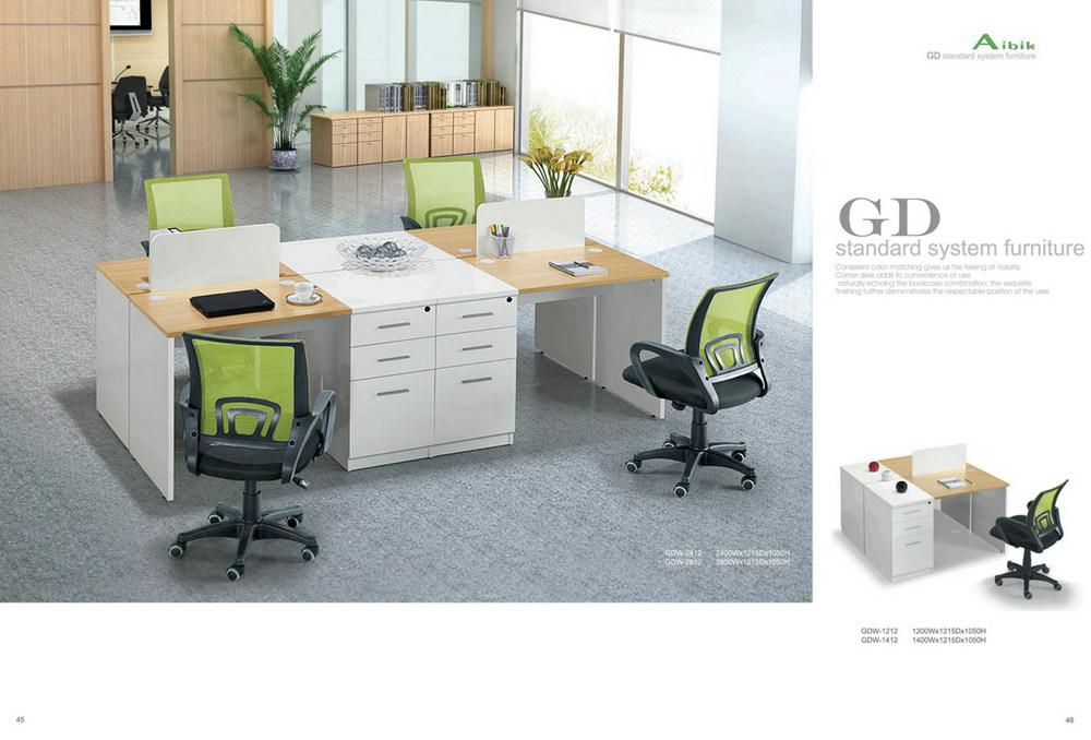 钢木结合办公桌-03