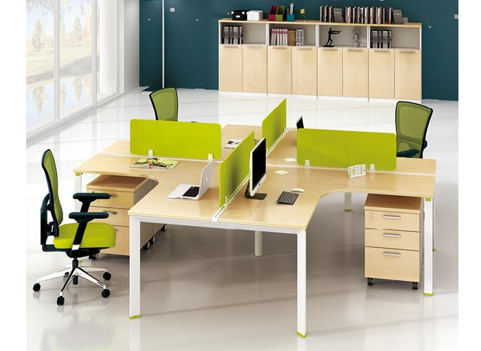 钢木结合办公桌-09