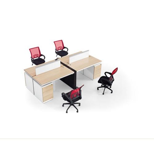 钢木结合办公桌-13