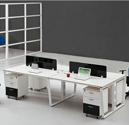钢木结合办公桌-16