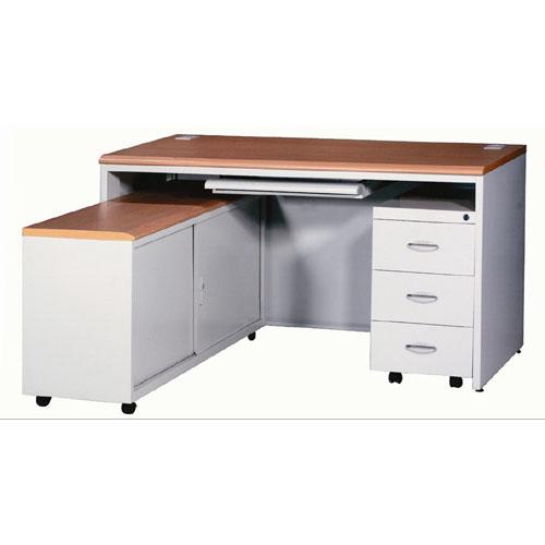 钢制办公桌-02